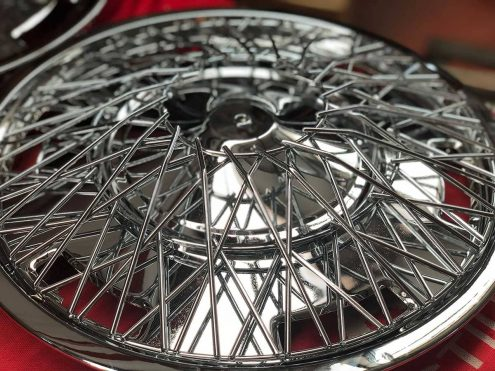 Cromado llanta rueda